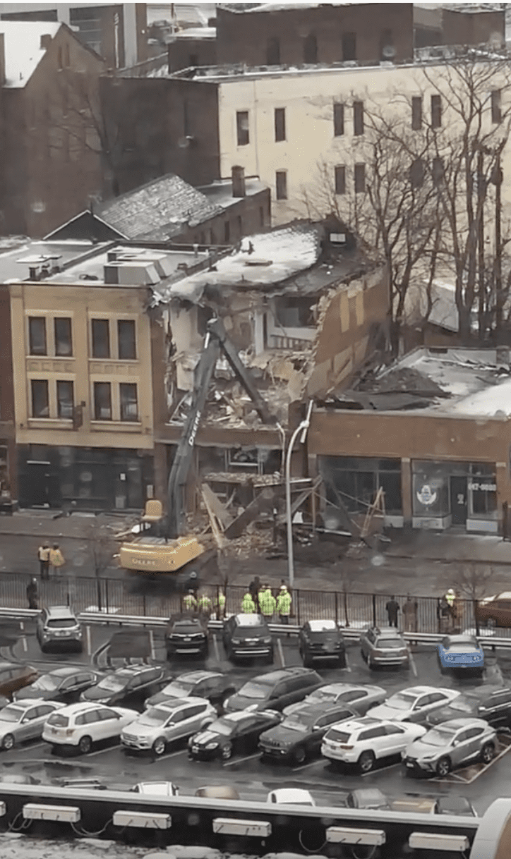 Buffalo New York Building Collapse 1